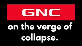 GNC on the verge of collapse.