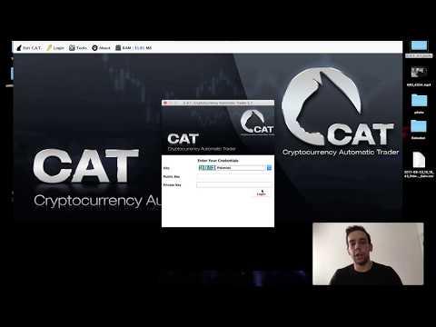 Otomatik Alım-Satım ile Tüm Gün Bitcoin Kazanın - CAT Bot - En iyi Bitcoin Bot
