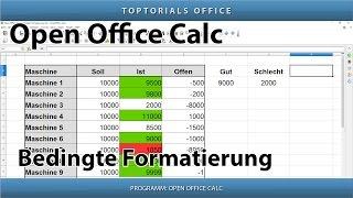 Bedingte Formatierung (OpenOffice Calc)