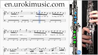 How to Play Oboe Ariana Grande Dangerous Woman Part#2 Melody School Learn Class Course Tutorial Shee