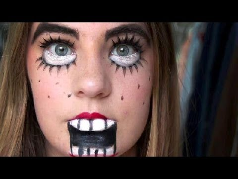 Halloween Tutorial: Ventriloquist Doll - YouTube
