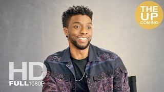 Chadwick Boseman interview on the cultural impact of Black Panther, hoping Wakanda inspires people