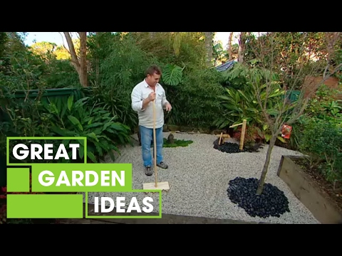 Japanese zen garden youtube for Building a japanese garden in your backyard