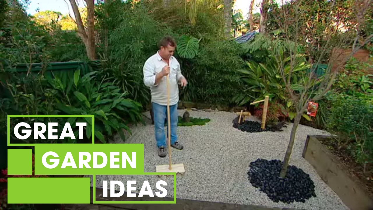How To Make Your Own Japanese Zen Garden Part 2