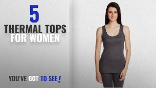 Top 10 Thermal Tops For Women 2018 Jockey Women 39 s Cotton Thermal Camisole