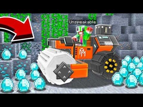 MAKING A MACHINE TO AUTO-MINE ALL DIAMONDS!