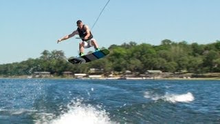Shawn in Training The Wakeboard C