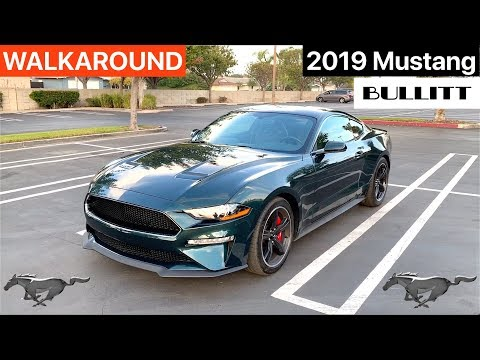 2019 Ford Mustang Bullitt WALKAROUND