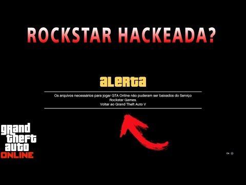 ROCKSTAR HACKEADA? ERRO AO ENTRAR NO GTA 5 ONLINE