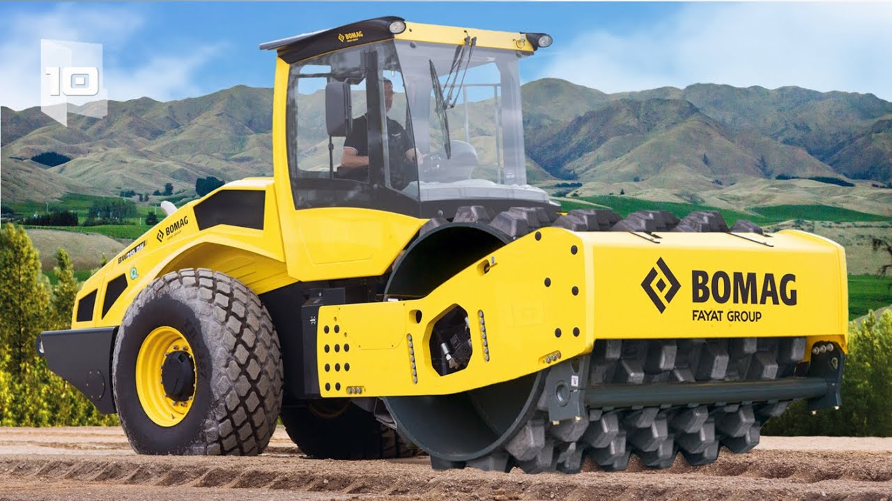 10 Largest and Powerful Soil Compactors in the World