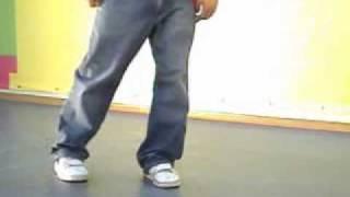 Видео-урок Crazy legs (popping)