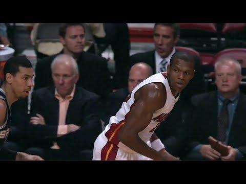 James Jones 18 Points Highlights (6 Threes) vs San Antonio Spurs (2013.10.19) (NBA PRESEASON)