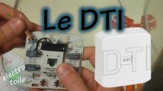 Raccordement d'un Dispositif de Terminaison Intérieur DTI