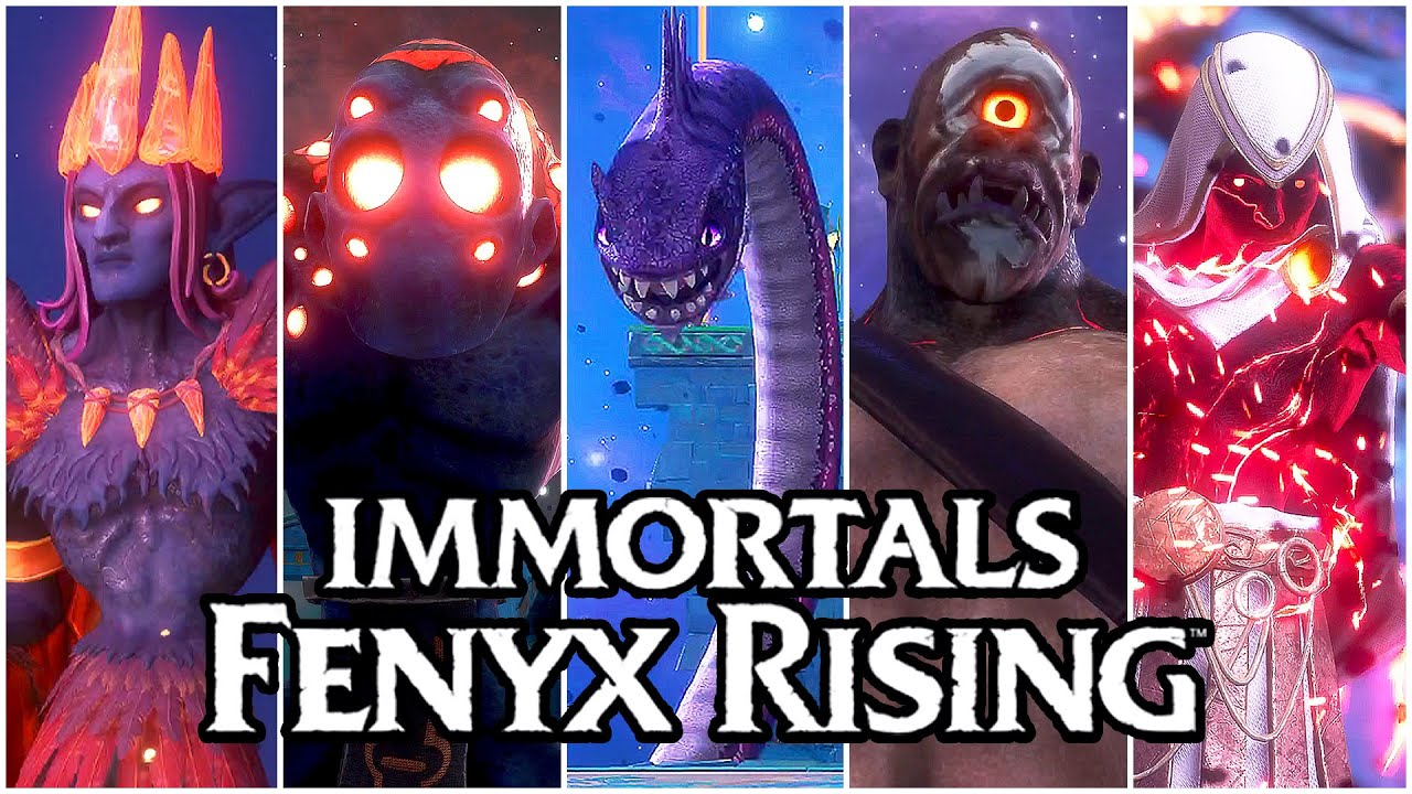 Download Immortals Fenyx Rising - All Boss Fights & ENDING (PS5, 4K)