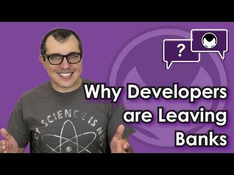 Bitcoin Q&A: Why developers are leaving banks