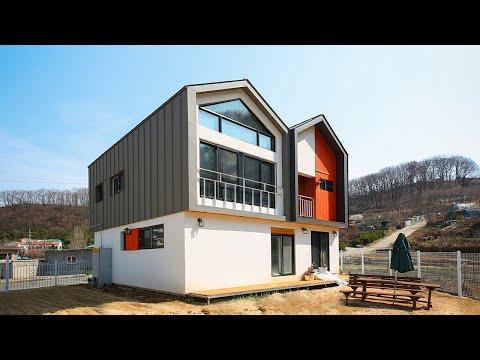 전원주택 전문기업 한글주택, 쌍둥이박공 목�