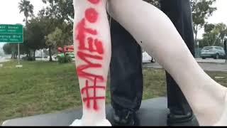 Sarasota 'kissing statue' vandalized days after veteran dies | 10News WTSP