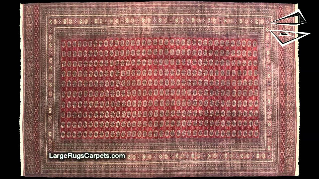 Palace Size Fine Bokhara Rug 16u0027 X 25u0027