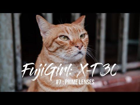 Fujifilm X-T30 Prime Lenses - FujiGirl Ep. 7