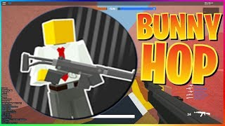 HOW TO BUNNY HOP IN BAD BUSINESS! (ROBLOX) REALLY HELPFUL!