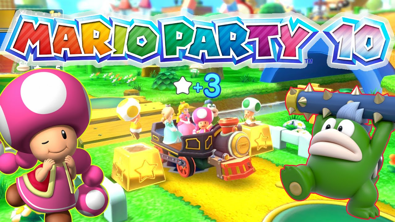how to play mario party 10 with wii u gamepad