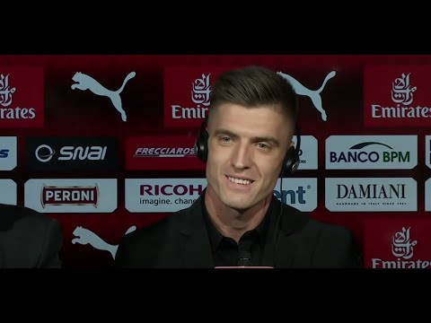 Krzysztof Piatek's official presentation press conference