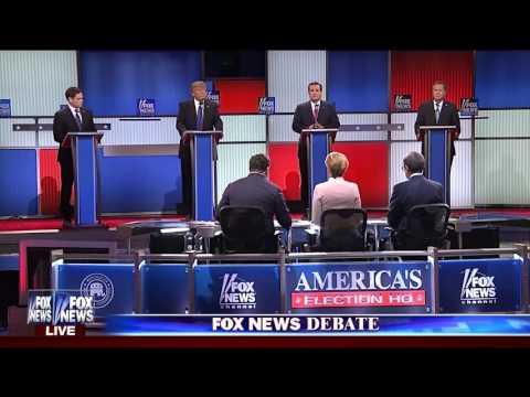 Ted Cruz on Donald Trump at GOP debate,...