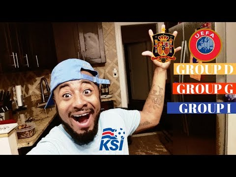 UEFA Group D, G, & I REACTIONS | 2018 FIFA World Cup Qualifiers | Oct 6th