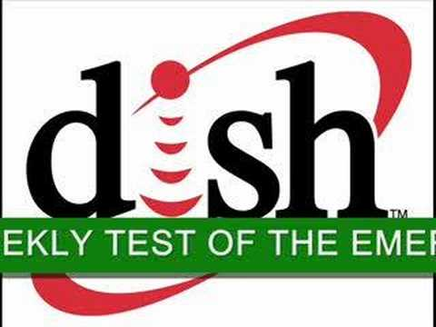 Mock EAS Test for Dish Network.