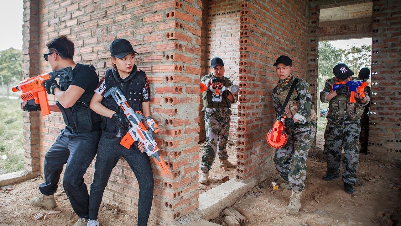 Download LTT Nerf War : SEAL X Special Mission Use Skill Nerf Guns Battle Attack Criminal Group 2