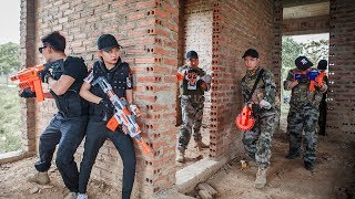 LTT Nerf War : SEAL X Special Mission Use Skill Nerf Guns Battle Attack Criminal Group 2