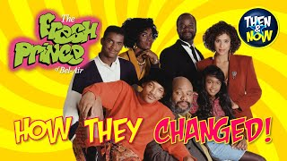 THE FRESH PRINCE OF BEL AIR  THEN AND NOW 2020  See how they changed! PL90