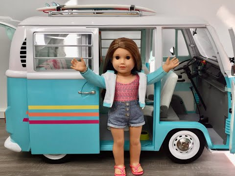 American Girl Joss Volkswagen Surf Bus ~ 2020 Girl Of The Year NEW!