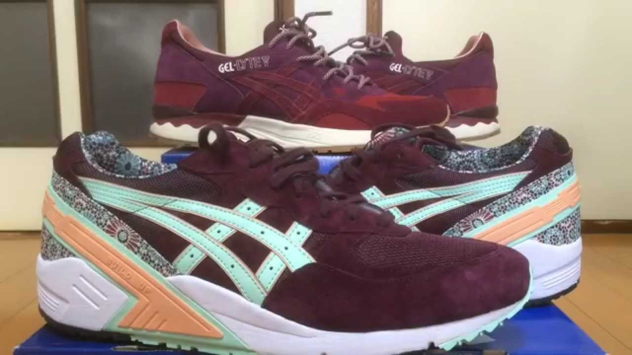 asics gel sight rose
