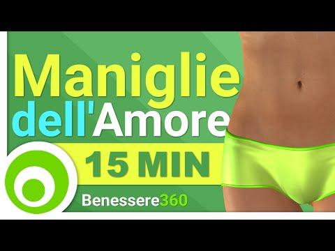 Maniglie dellAmore: Esercizi per Eliminare i Fianchi e Ridurre il Girovita - 15 Minuti
