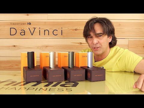 Vaporisateur Da Vinci IQ. Vidéo du produit
