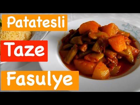 Patatesli Taze Fasulye Yemeği Tarifi E-Tarifler.Com Yemek Tarifleri