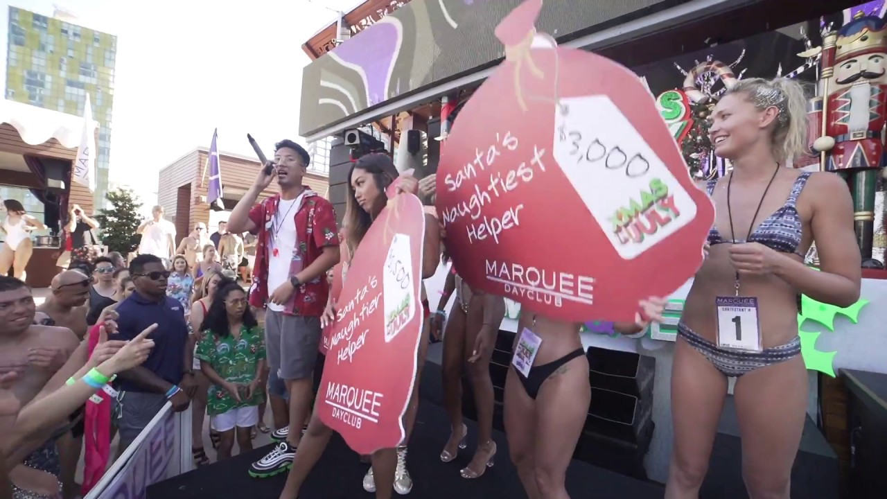 Xmas in July at Marquee Dayclub