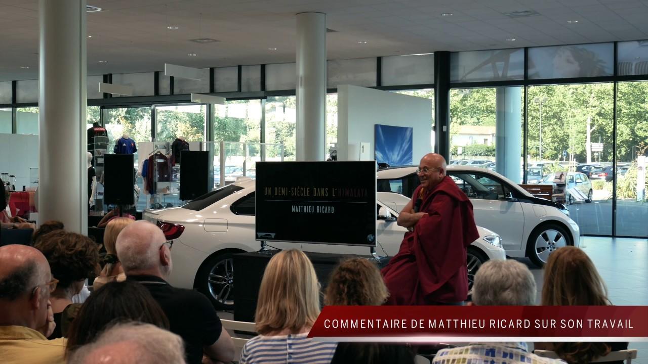 Vernissage Expo Matthieu Ricard Bmw Foch Automobiles Avignon Youtube