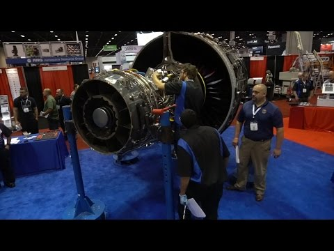 Pratt & Whitney Features PurePower® Geared Turbofan™ Engine at Aerospace Maintenance Competition
