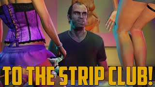 Repeat youtube video TO THE STRIP CLUB! (Grand Theft Auto V - First Person Next Gen)