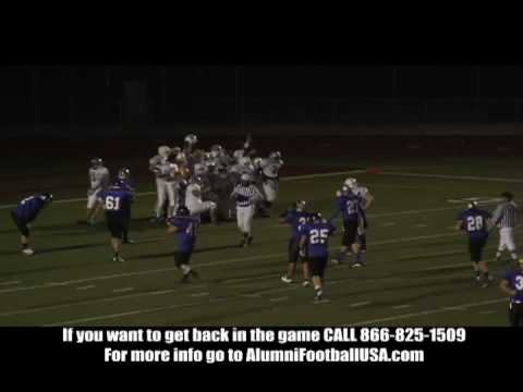 Davis vs Rocklin Alumni Football Game 11/28/09