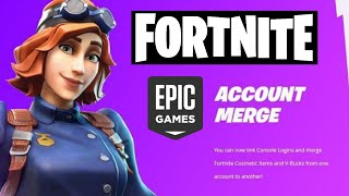 #FORTNITE #EPICGAMES FORTNITE JETZT HAT EINE MERGE ACCOUNT OPTION.