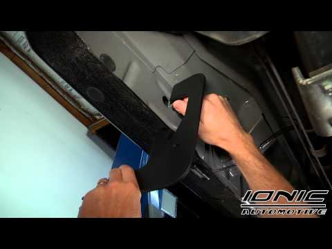 """How to Install Ionic 5"""" Inch Stainless Oval Nerf Bars at AutoCustoms.com"""