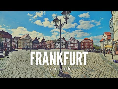FRANKFURT Travel Guide, 5 best place to visit in frankfurt !!