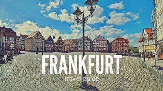 FRANKFURT Travel Guide, best place in frankfurt germany that you must visit !!