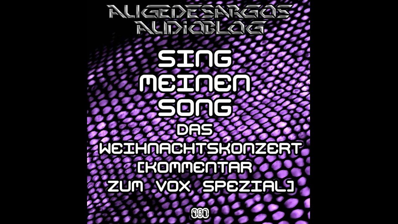 Sing Meinen Song Das Weihnachtskonzert Kommentar Zum Vox Spezial