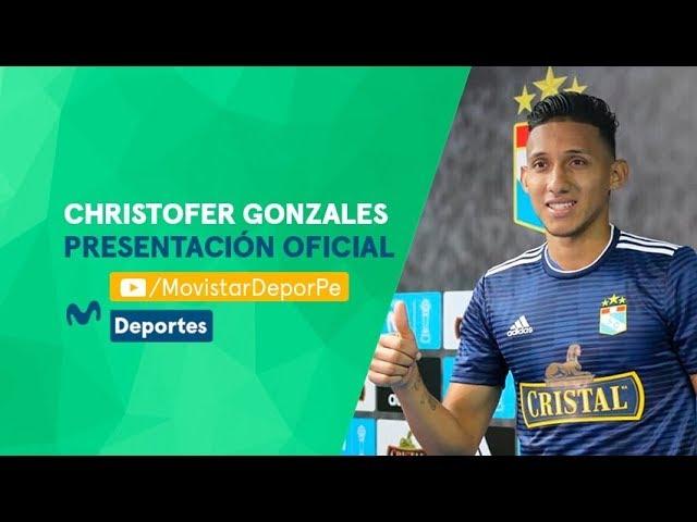 Christofer Gonzales fue presentado en Sporting Cristal: sus objetivos del 2019
