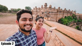 Complete Tour of the Gwalior Fort | Madhya Pradesh | The Heart of India Ride Ep:02 | #WhereDoWeGoNow