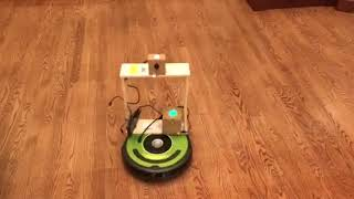 AIY Vision kit and voice kit on roomba